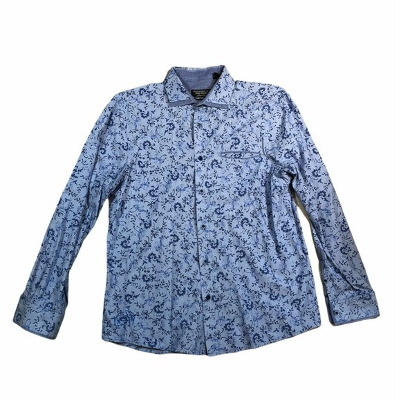 John Lennon By English Laundry Mens Floral Lomg Sl
